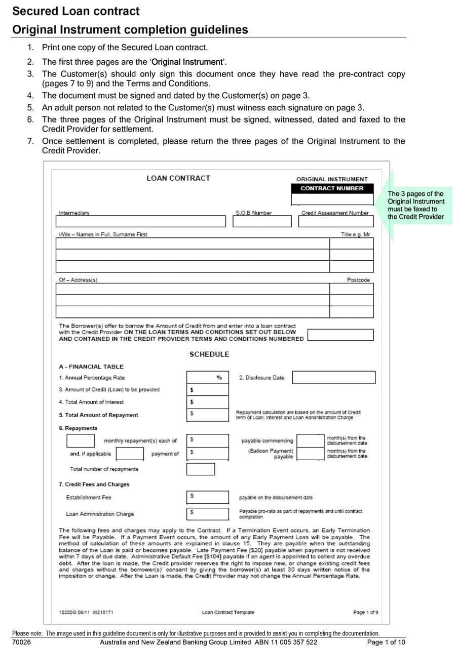Loan Agreement Template The Individual Who Wants Loan After Bankruptcy Should Fulfill These Criteria Just Imagine If Contract Template Personal Loans Loan
