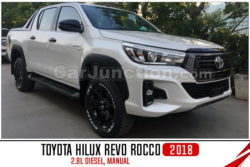 2018 Toyota Hilux Revo Rocco Double Cab 4wd 2 8l Diesel Engine Manual Transmission Toyota Hilux Used Toyota Toyota