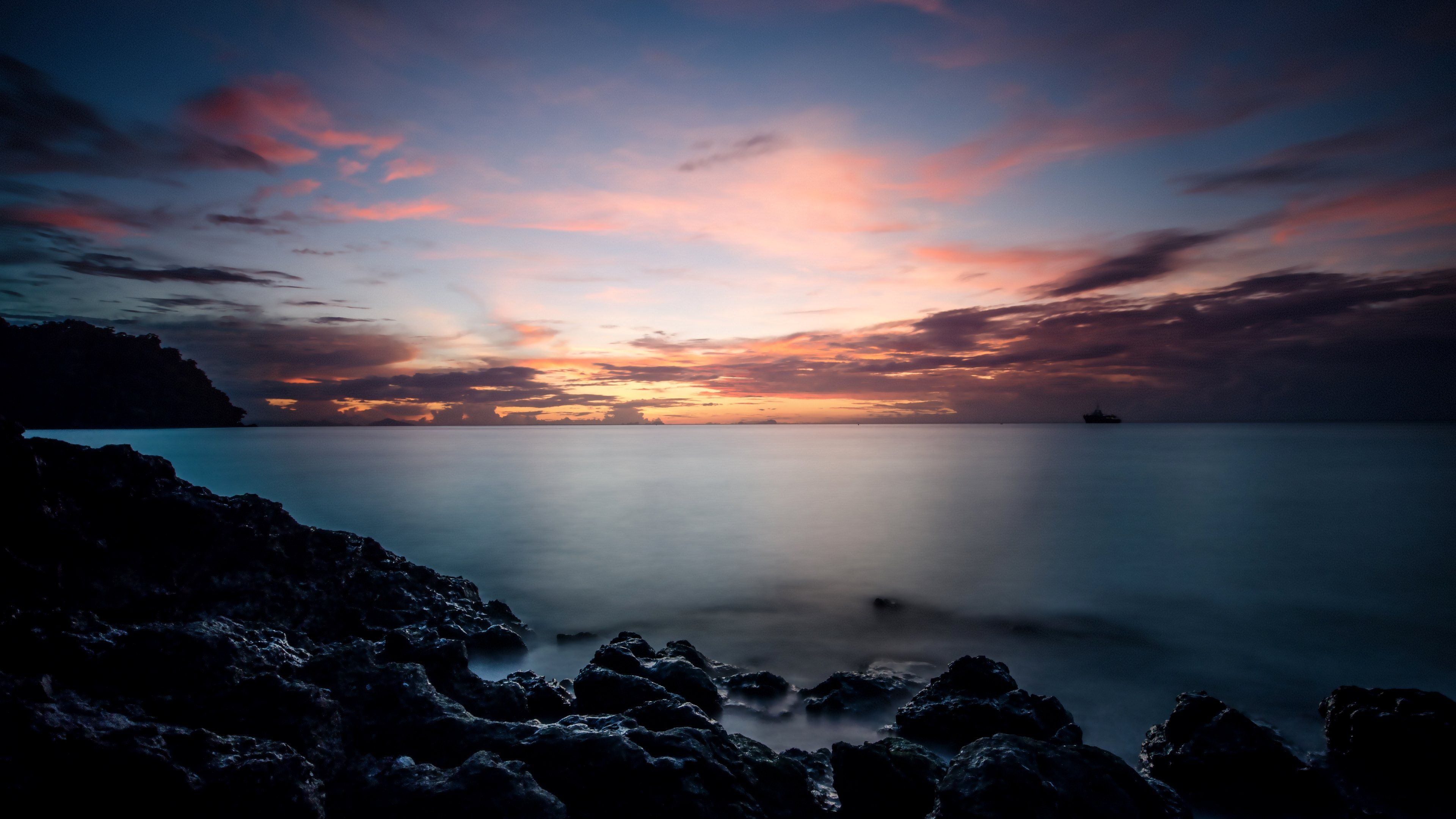 Super Sunrise 4k Wallpaper Sunrise landscape, Thailand