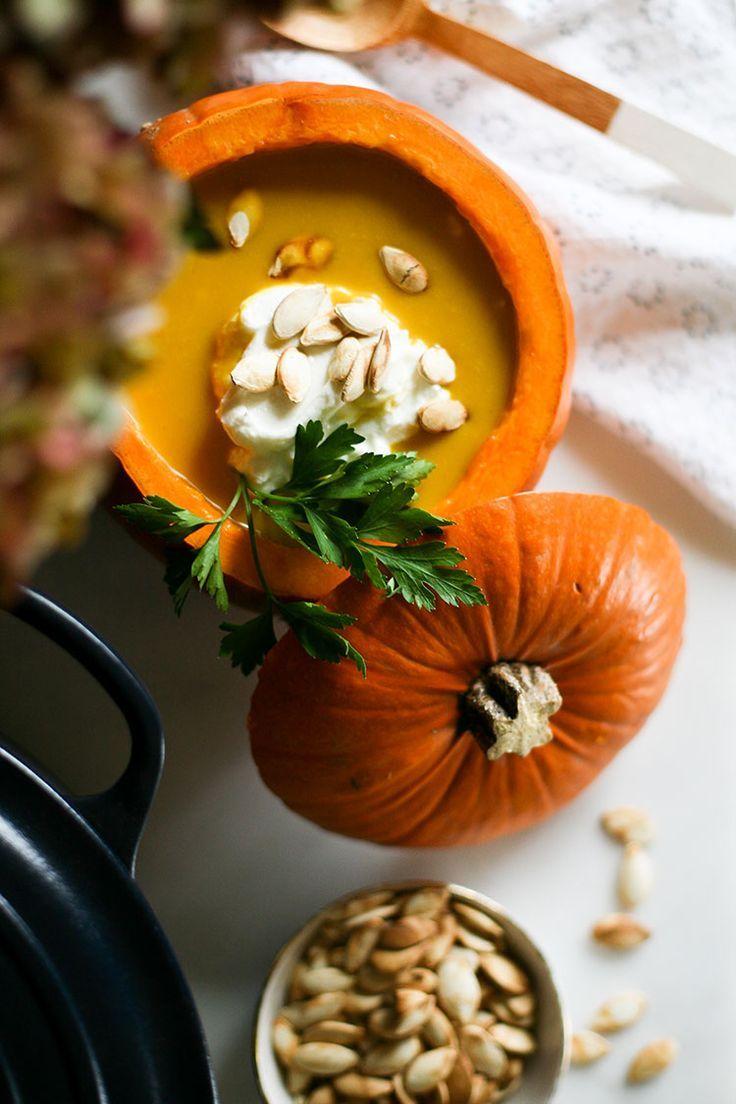 jojotastic - recipe // spiced sweet potato soup (i