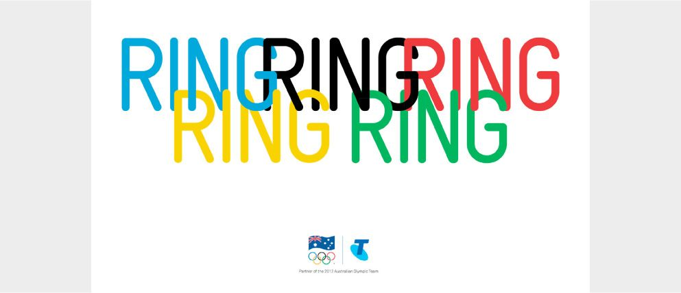 Phone Company Advertising (Telstra) for Olympic Games