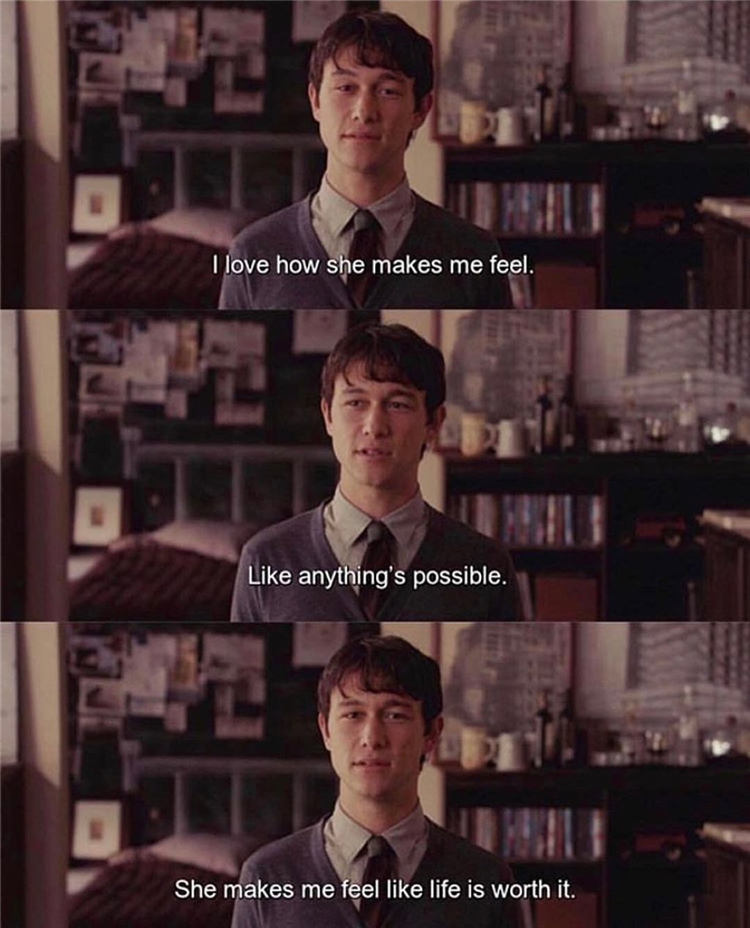 50 Inspirational And Powerful Movie Quotes To Give You Energy Everyday Women Fashion Lifestyle Blog Shinecoco Com 500 Days Of Summer Movie Quotes Best Movie Quotes