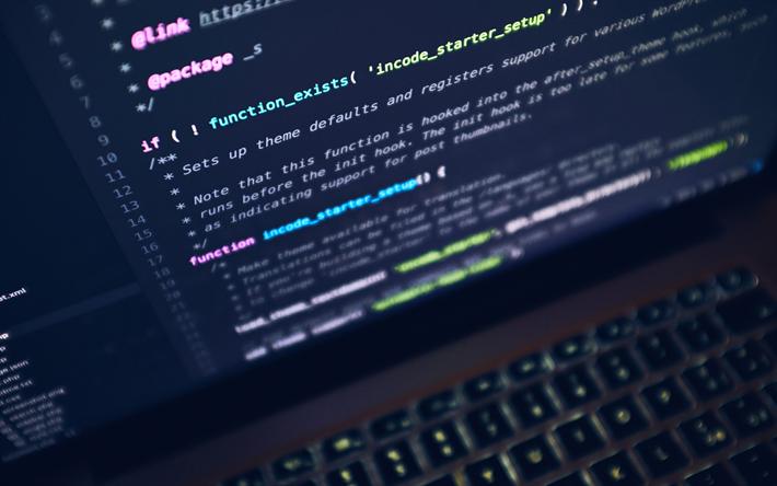 Download Wallpapers Programming Program Code Macbook Pro