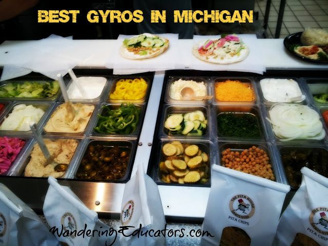 Foodie Finds Best Gyros In Michigan Michigan Food Gyros Foodie
