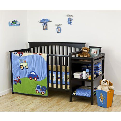 Dream On Me 2 Piece Crib Bedding Set Travel Time Dream On Me Babies R Us Crib Bedding Sets Baby Boy Bedding Baby Boy Bedding Sets