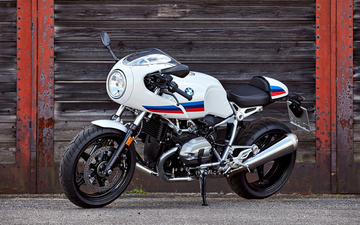 Download Wallpapers BMW R NineT Racer, 4k, 2017 Bikes