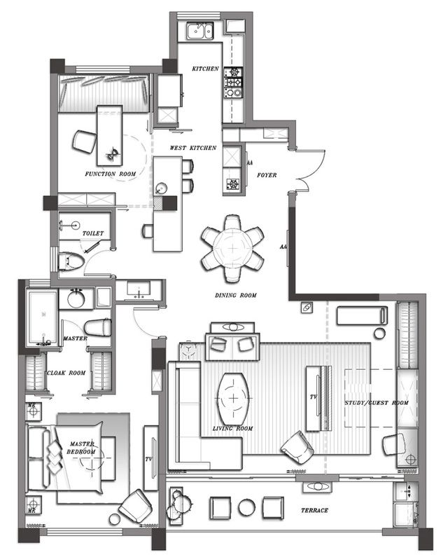 Pin by Yiling Huang on interior layout Pinterest How to plan