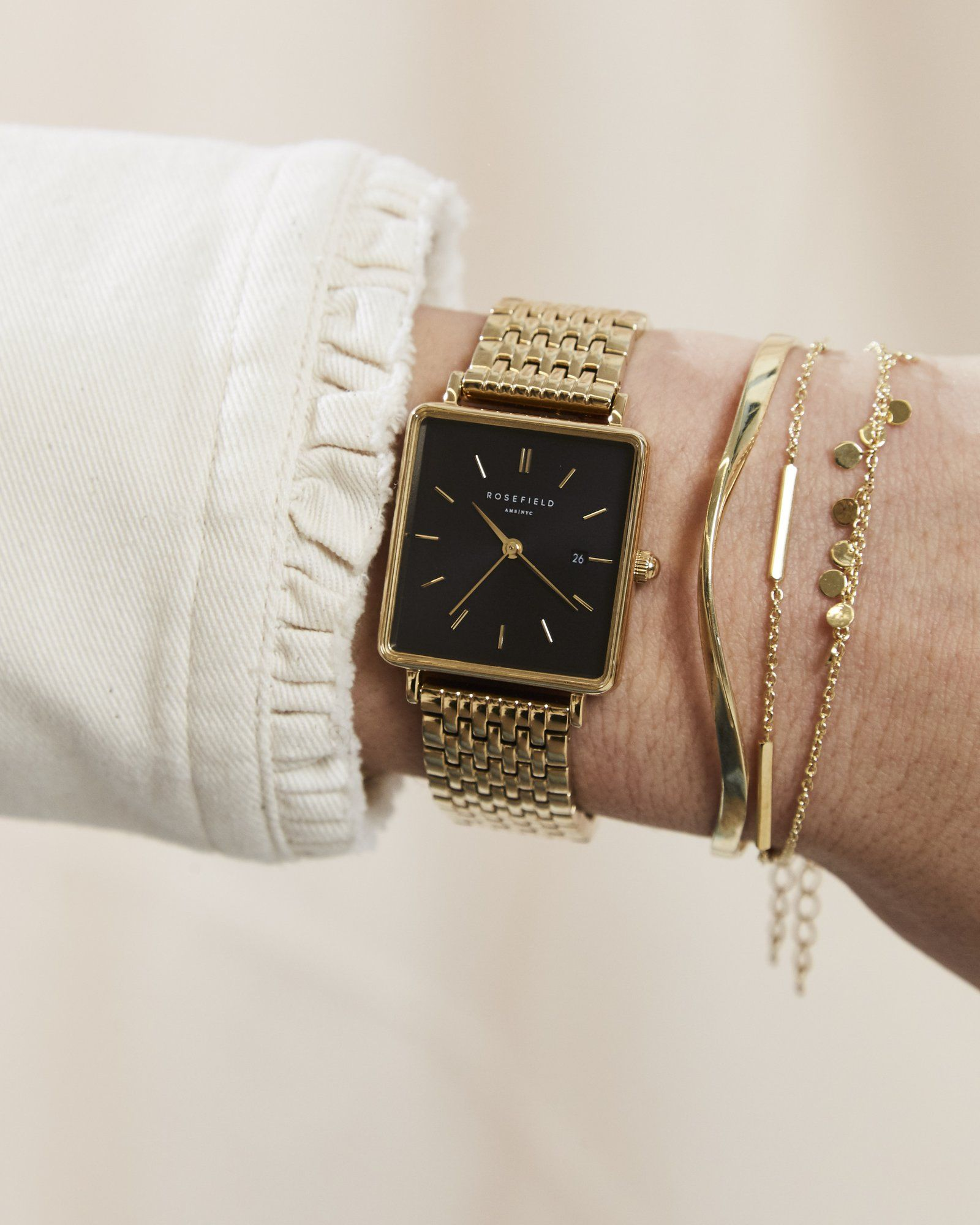 The Boxy Black Gold #vintagewatches