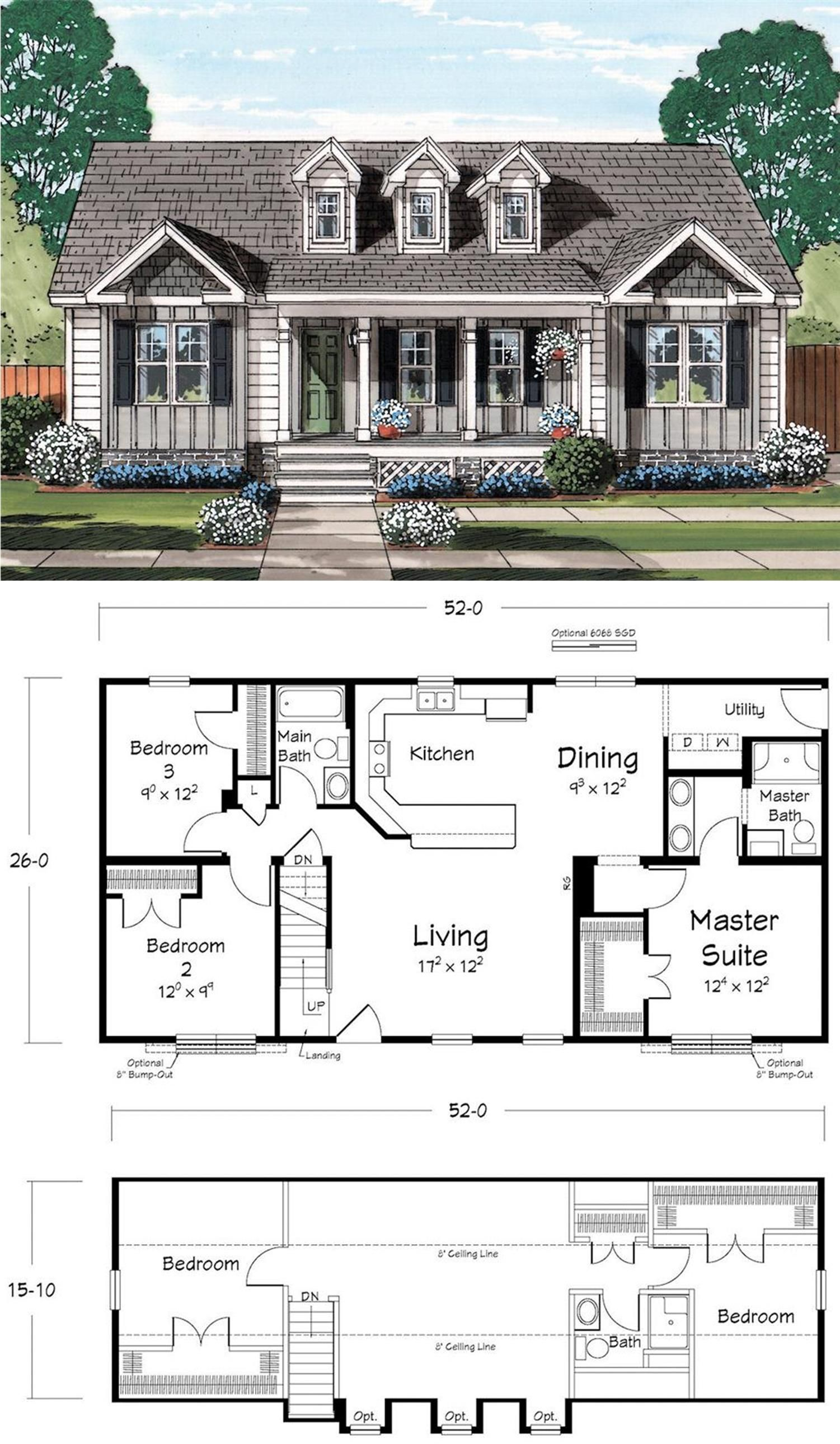 A Few Dormers Can Change The Whole Look Of Your House Sims House Design House Blueprints House Plans
