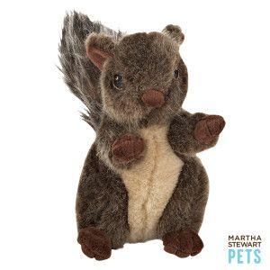Martha Stewart Squirrel Dog Toy