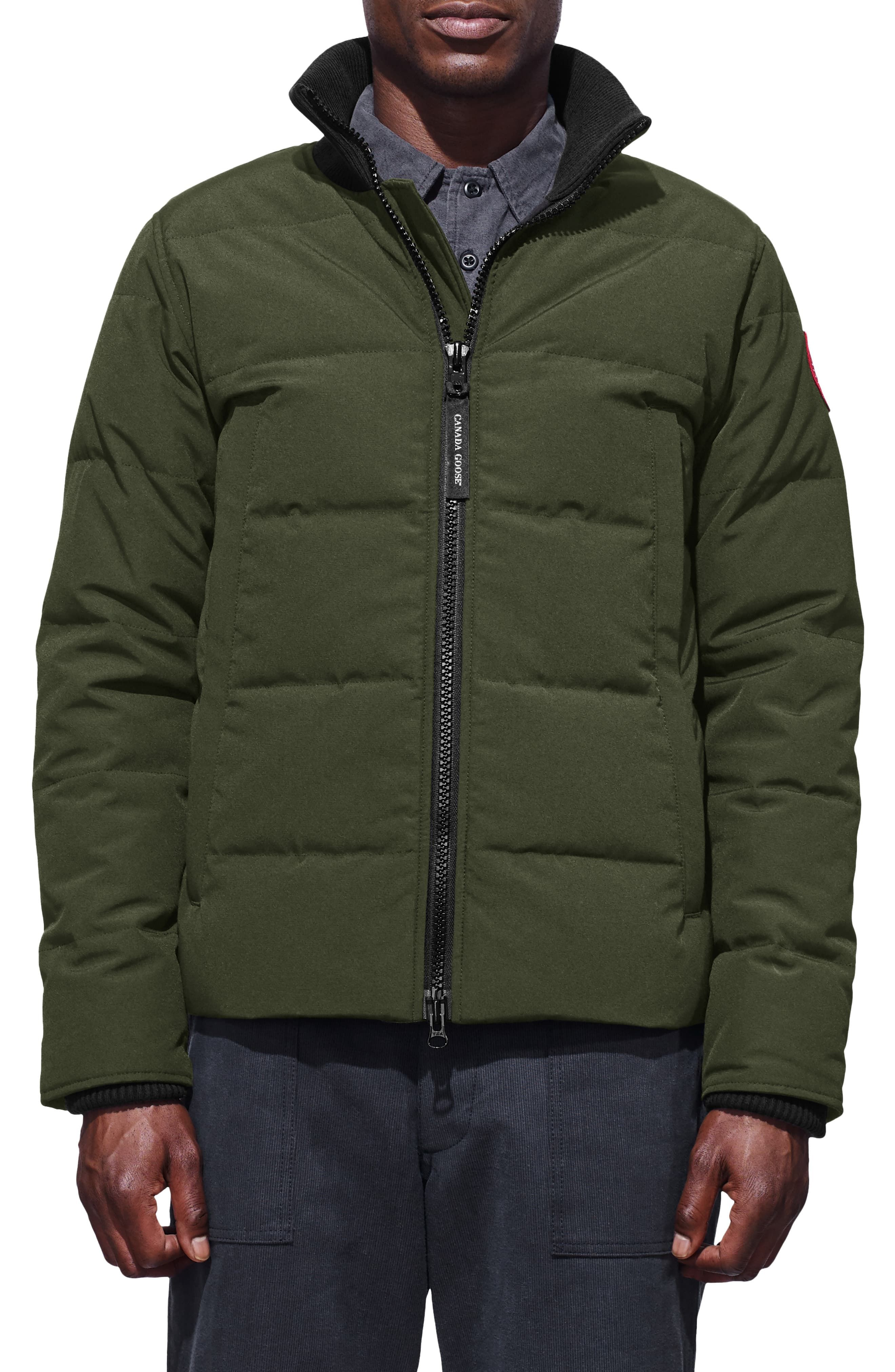 Canada Goose Woolford Slim Fit Down Bomber Jacket Nordstrom Canada Goose Mens Down Jacket Mens Jackets [ 4048 x 2640 Pixel ]
