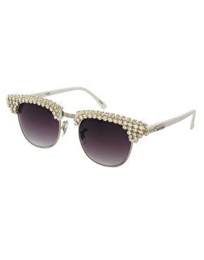 A-Morir Ellington Diamante Sunglasses