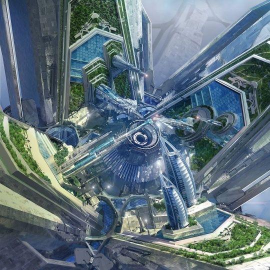 Futuristic Architecture Fun Discover Error