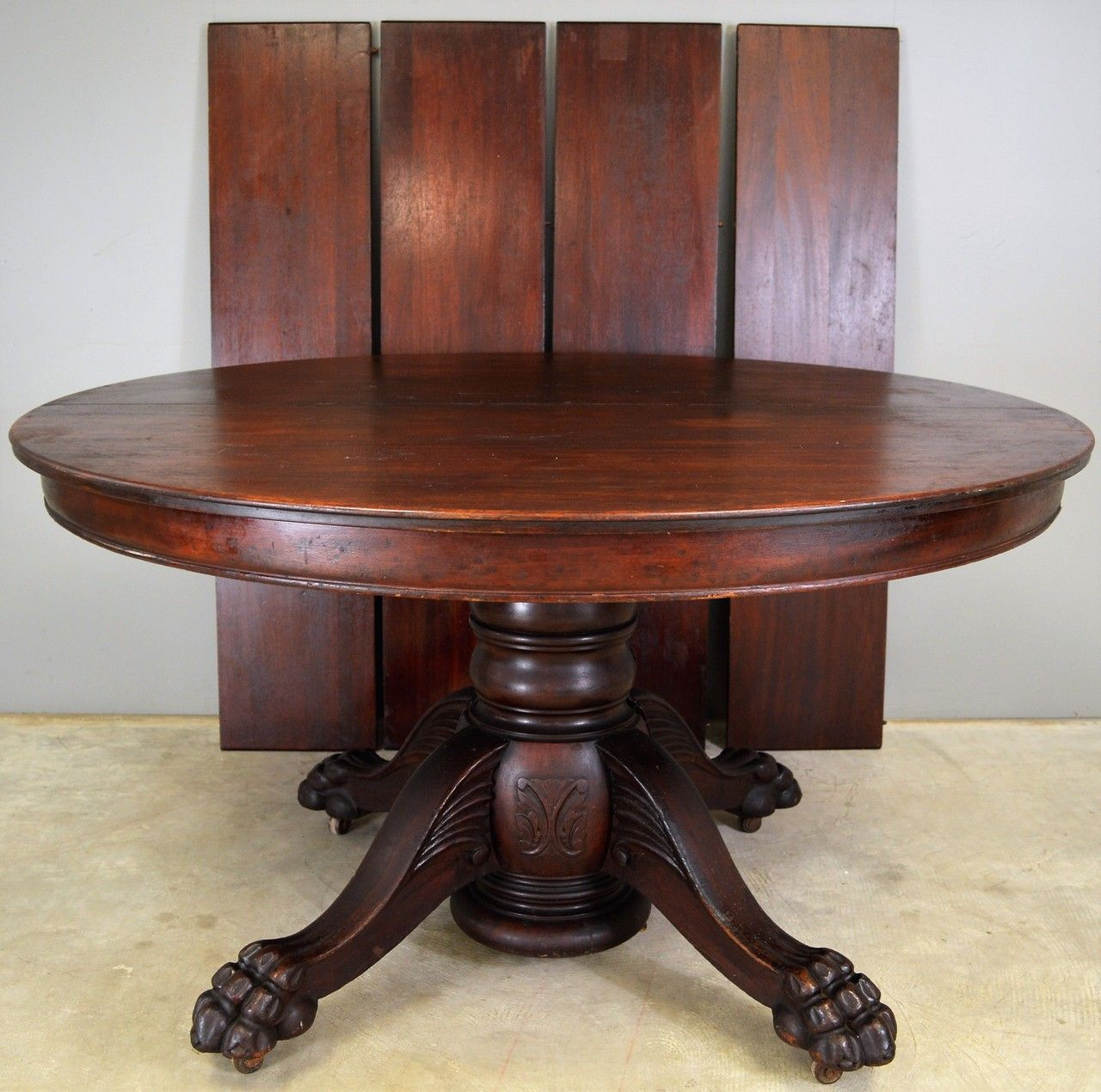 17808 Victorian Carved Mahogany Banquet Table Opens Over 10 Feet In 2020 Table Banquet Tables Dining Table