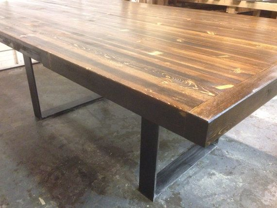 Custom Dining Table Created With Recycled Colorado Beetle Kill Interesting Custom Dining Room Tables Design Decoration