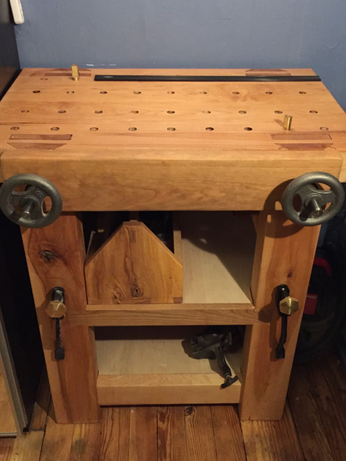 Apartment Workbench The Lighthearted Woodworker Woodworking