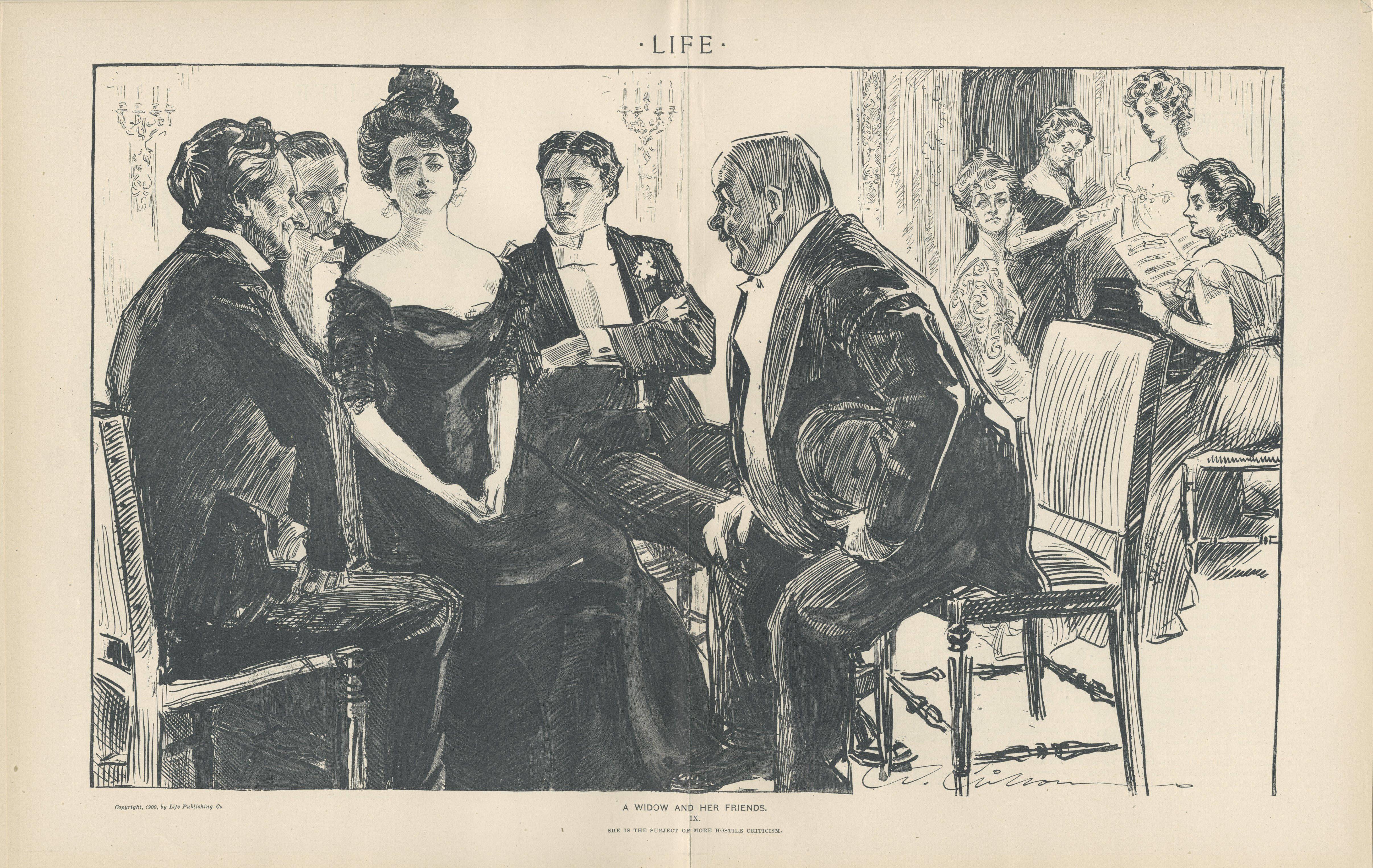 Subject Of Hostile Criticism. 1900