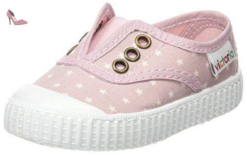 Elast Estrellas Mixte Rose Bébé rosa Victoria Baskets Inglesa f7w7vE