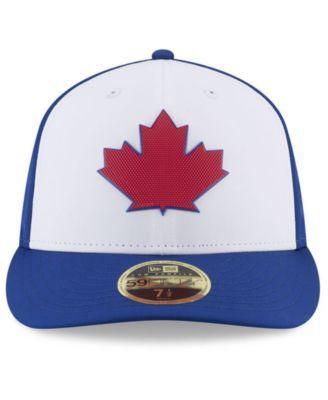 34862140c New Era Toronto Blue Jays Low Profile Batting Practice Pro Lite 59FIFTY  Fitted Cap - Blue 7 5/8