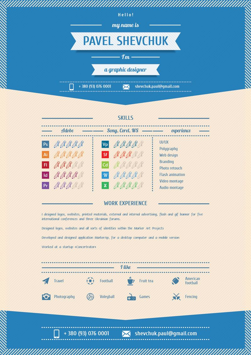 RetroInfographicResumeTemplateAiFile  Organization