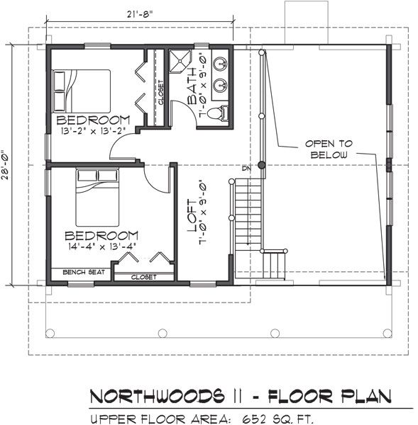 one story cabin plans