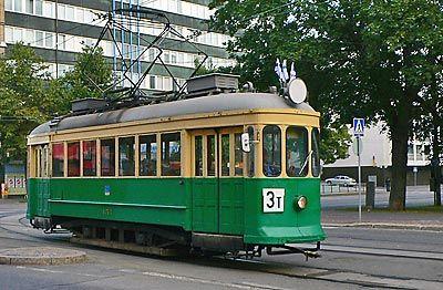 Helsinki tram 157 Asea, used 1930-1975