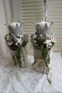 Bildergebnis Fur Kronen Basteln Aus Blechdosen Adventfenster