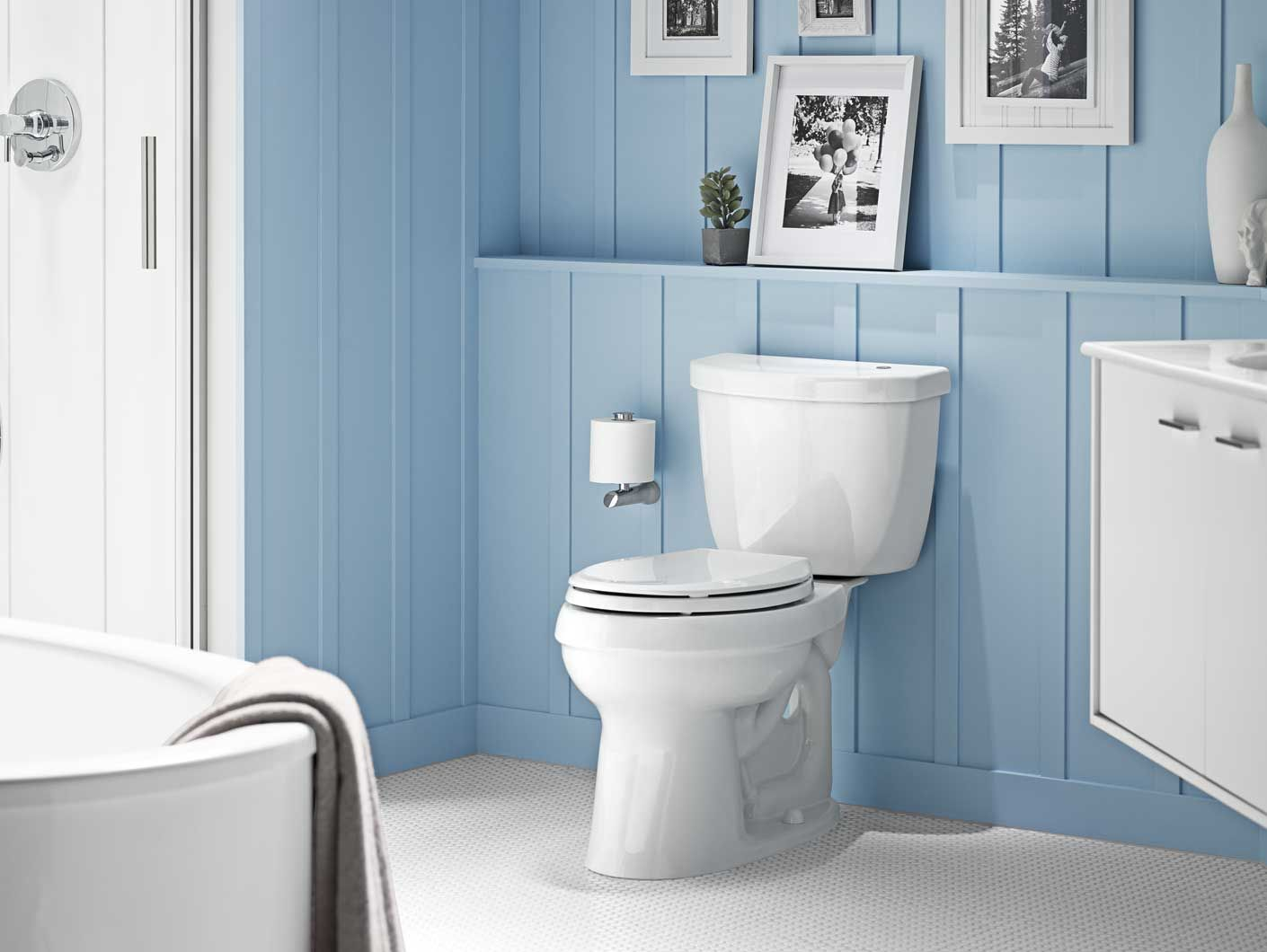 Kohler Touchless Toilets And Flush Kit The No Touch Flush For Your Home Bathroom Redecorating Beautiful Bathroom Designs Modern Toilet