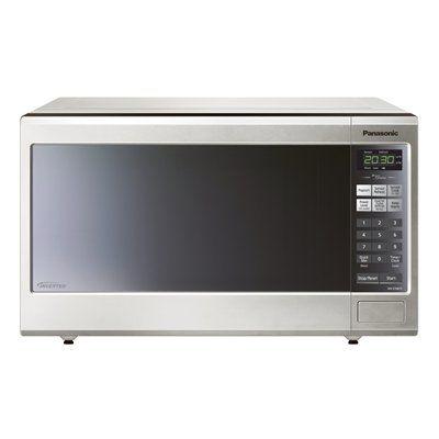 Panasonic Nnst681s 1 2 Cubic Ft 1 200 Watt Countertop Microwave