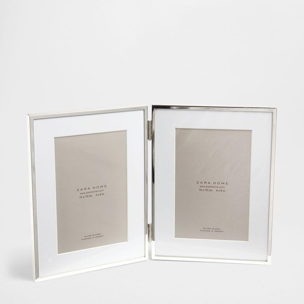 Fine Metal Frame Photo Frame Decoration Zara Home Frame