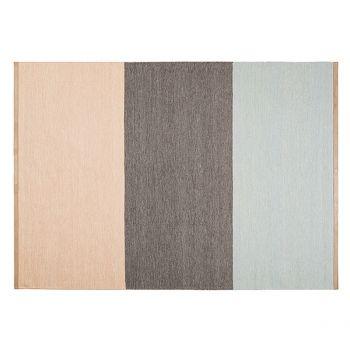 Fields matto, 170 x 240 cm, ruskea