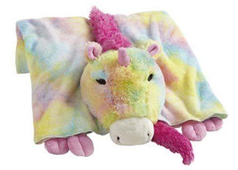 My Pillow Pets Premium Rainbow Unicorn Blanket By CJ ...