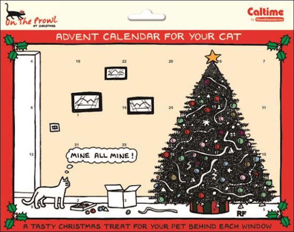 Details about ON THE PROWL ADVENT CALENDAR FOR THE CAT
