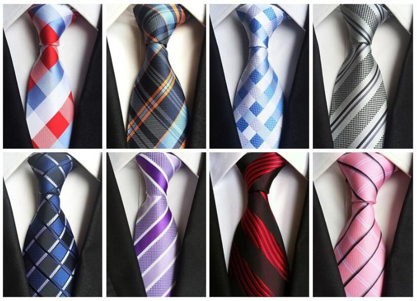 bd33a5c9d4ad Classic 100% Silk Mens Ties New Design Neck Ties 8cm Plaid Ties for Men  Formal Business Wedding Party Gravatas Price: 9.00 & FREE Shipping #skirt  #clothes ...