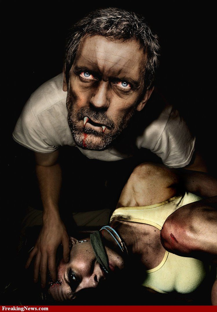 Dr. House... I knew it! Hugh laurie
