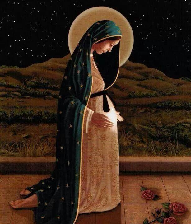 Maria gravida...lindo