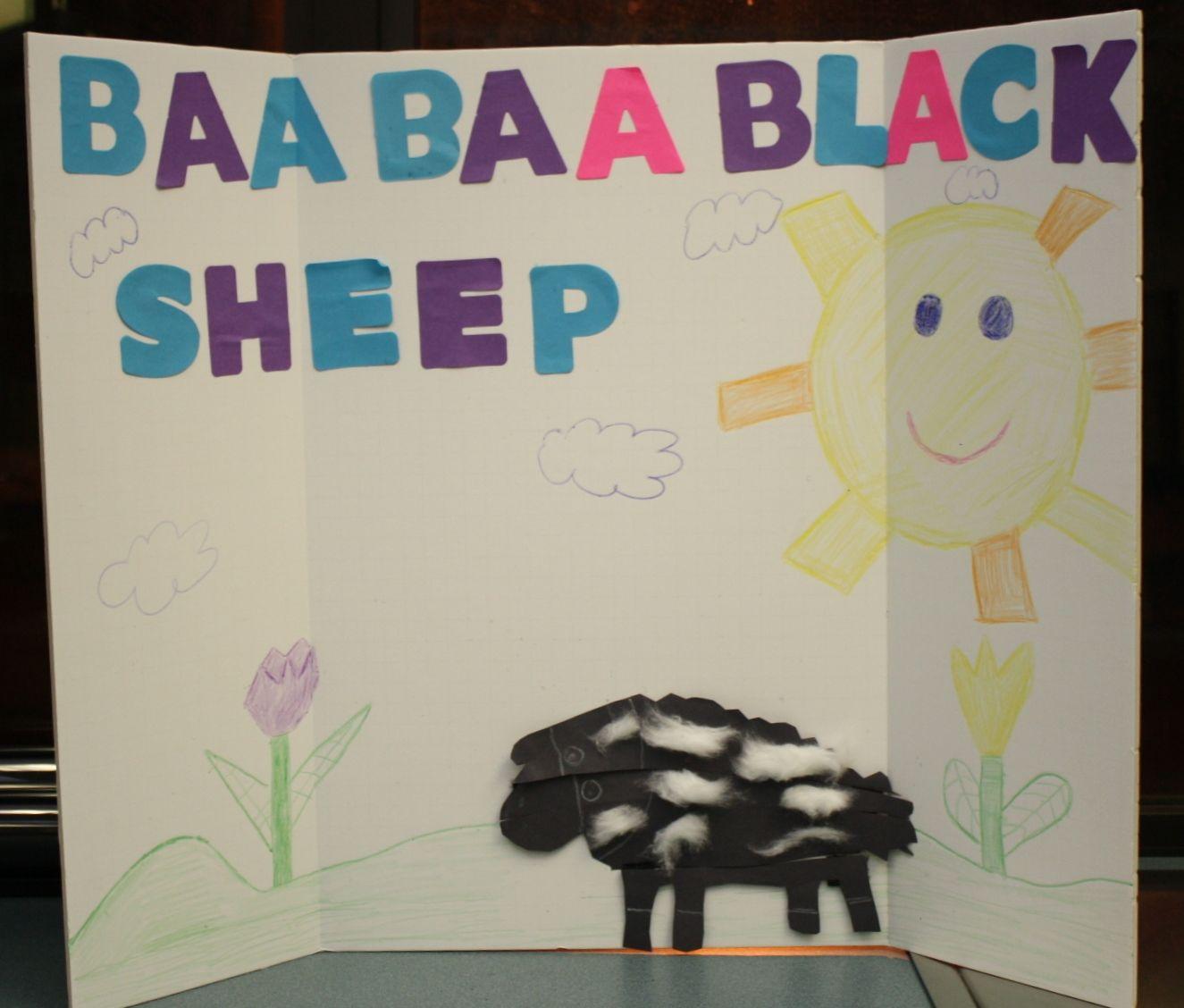 Baa Baa Black Sheep Story Board Created By Miss Lindsey