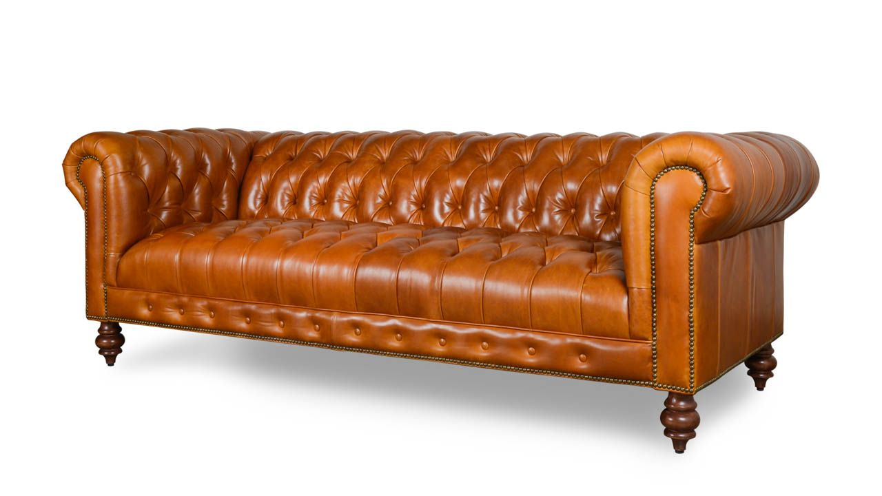 COCOCO Home | Chelsea Chesterfield Leather Sofa - Made in ...