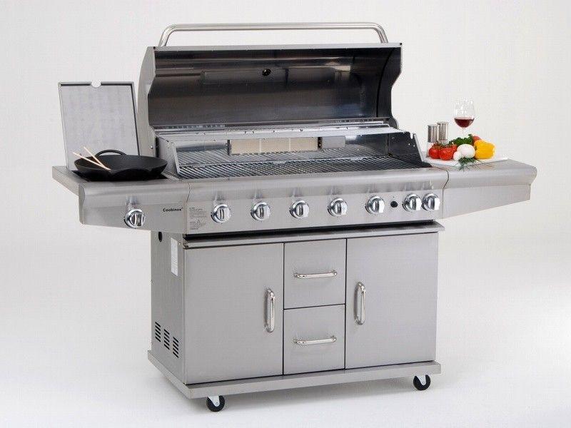 Outdoor Küche Mit Gasgrill Und 4 Brenner Utah : Coobinox brenner aussenkuche gasgrillkuche bbq grillz u eu e