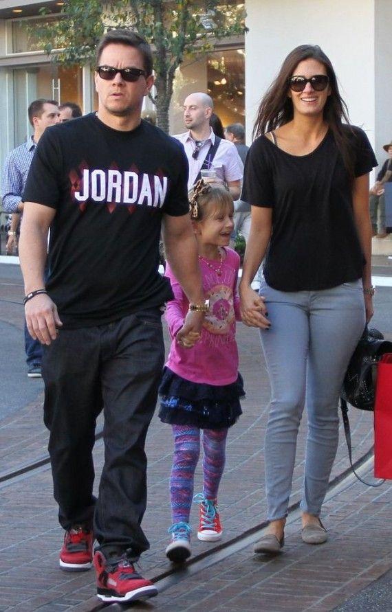 best service 034df 8f0da Mark Wahlberg wearing Jordan Spiz'ike | Mark | Nike air ...