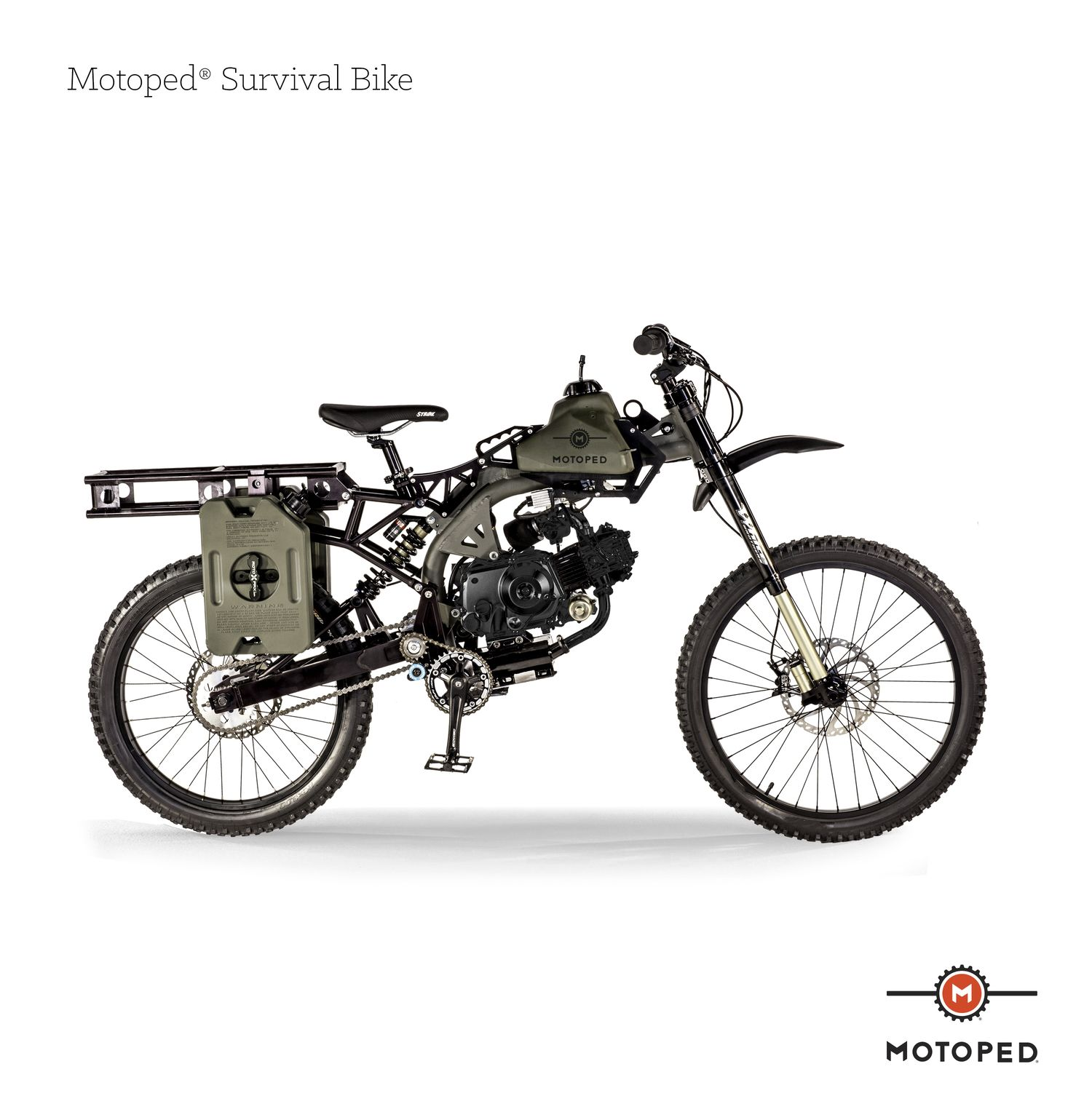 Motoped+Survival+Bike+2 | Survival Tools and Weapons | Pinterest ...