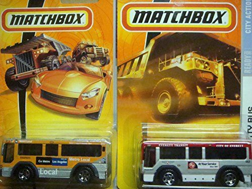 Matchbox City Bus Variant Set Orange Metro Local 35 The Red Everett Transit 50 2 Pieces Scale 164 Collector Check Out The Image By V Matchbox Toy Car Toys