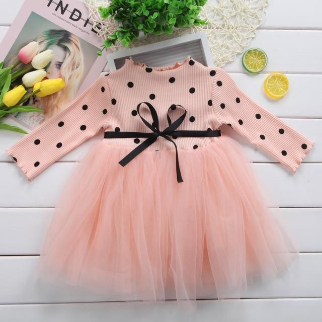 Kids Girls Baby Child Flower Princess Party Vest Dresses Tutu Skirt Clothes 0-4Y