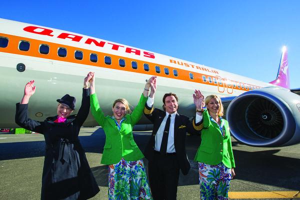 It wouldn't be a Qantas event without the incredible John Travolta! #johntravolta #travel #celebrity #karryon