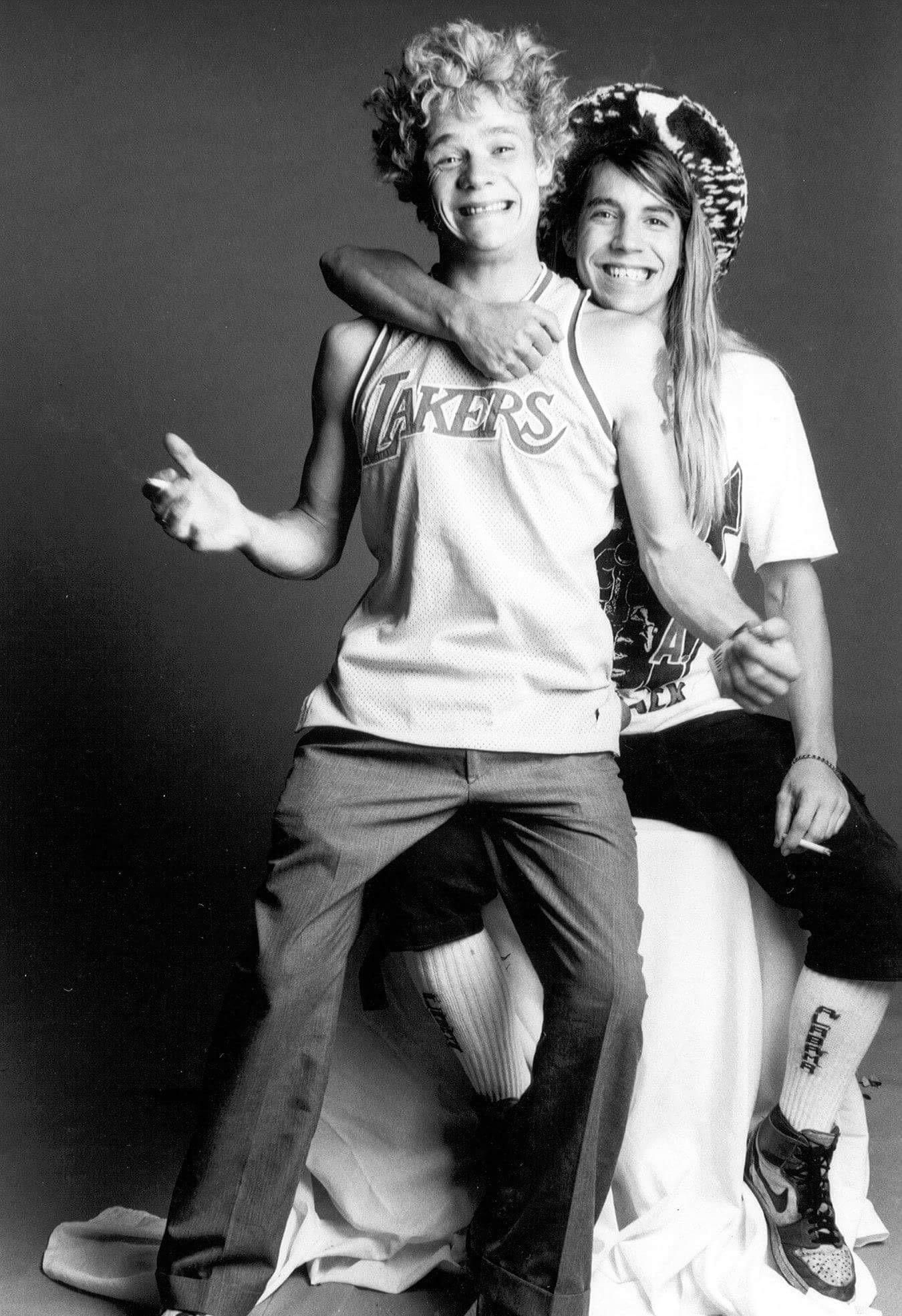 anthony did flea high kiedis meet school