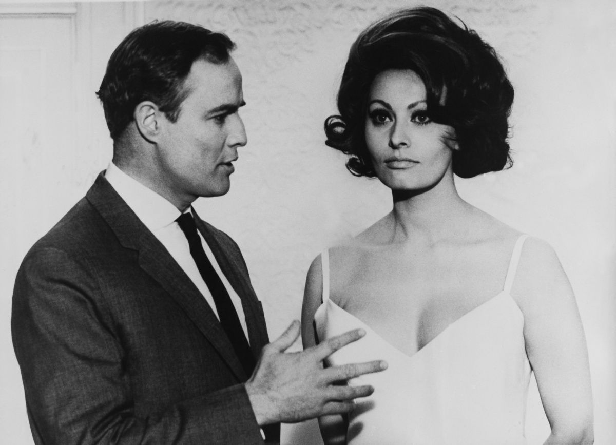"Marlon Brando and Sophia Loren -- ""A Countess From Hong Kong"".  5 Famous Onscreen Couples Who Didn't Like Each Other In Real Life"