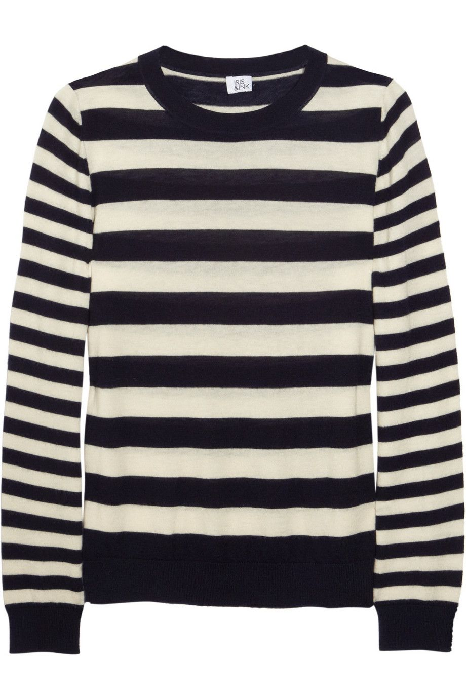 Striped cashmere sweater by Iris & Ink | Things I love | Pinterest ...