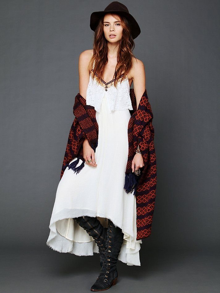Free People Gypsy Heart Dress at Free People Clothing Boutique
