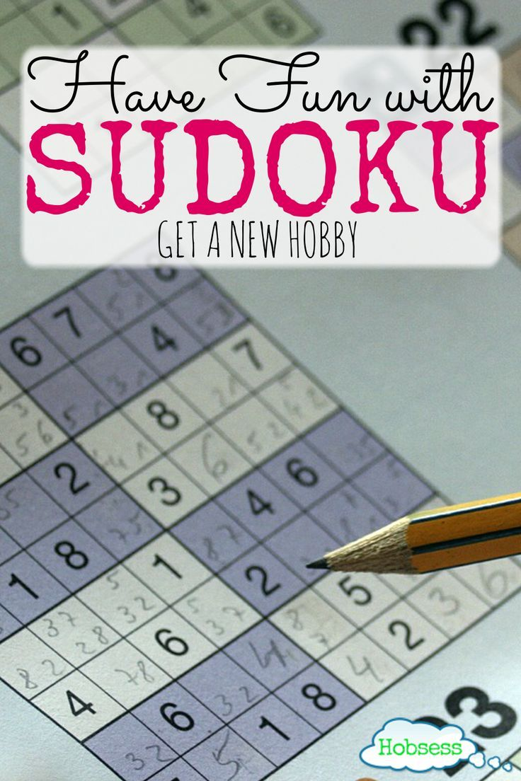 Sudoku Hobsess Get ready to start your new hobby! in