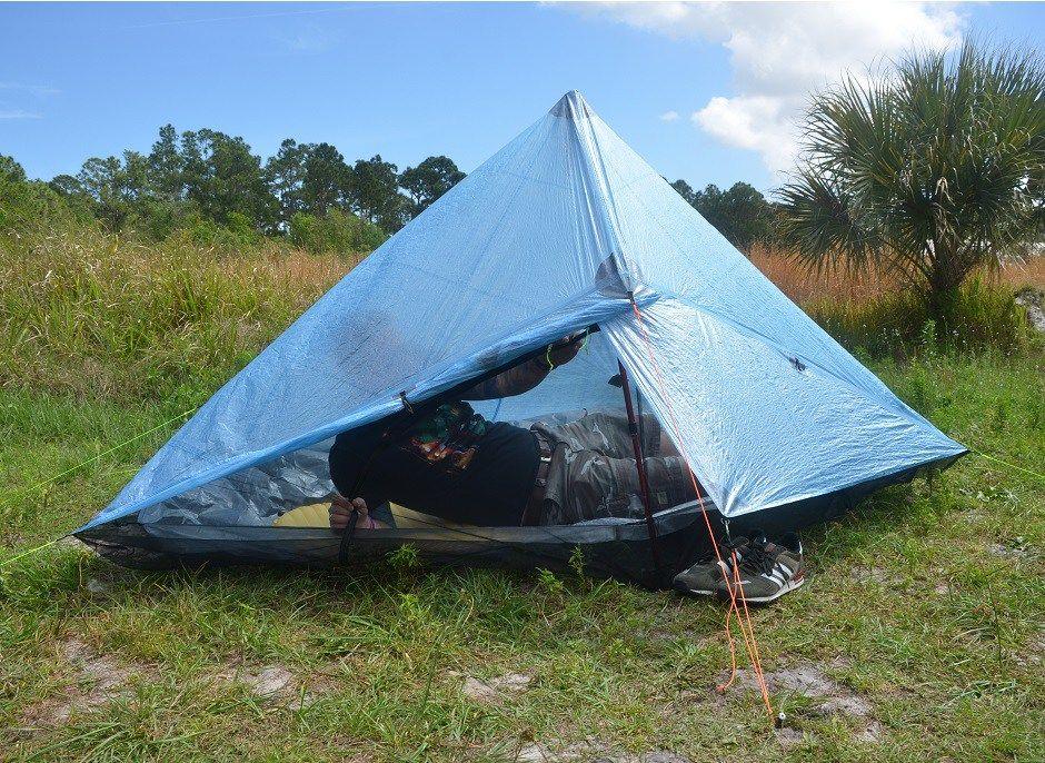 ZPacks Hexamid Solo-Plus Tent Interesting super light tent Ultra Light Hiking & ZPacks Hexamid Solo-Plus Tent: Interesting super light tent: Ultra ...